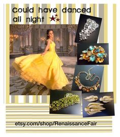 """""""Could have danced all night"""" by renaissance-fair ❤ liked on Polyvore featuring Emma Watson and Ciner"""