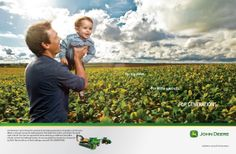 For years, John Deere has invested its time, efforts, and money to create a better world for future generations.