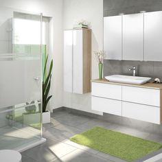 badmobel doppelwaschbecken, badmöbel set 5tlg dubai - hochglanz schwarz - 120 cm, Design ideen
