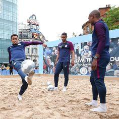 Brazilian boys!  #gabrieljesus #fernandinho #fernando #mcfc #mancity #manchestercity