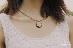 Collar Ivory Blossom $116 MXN  https://www.facebook.com/Sugarbound