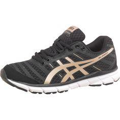 Asics Womens Gel Zaraca 2 Lightweight Neutral Running Shoes Black/Golds