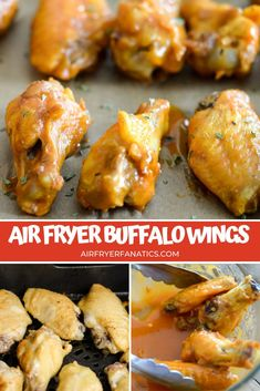 Make these easy air fryer buffalo wings in just about 20 minutes. This is the perfect air fryer game day recipe to share with family and friends!