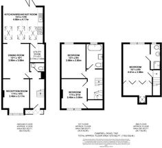 Floor Plan with Utility room and WC