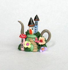 Miniature Whimsical Fairyland Fairy Houses by ArtisticSpirit