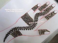 YouTube simple #arabic #henna #mehndi #design tutorial