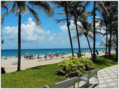 Beach Scene (Deerfield Beach, Florida)