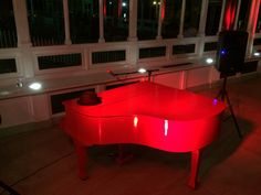 My own #Liverpool #redpiano seen from the front before the party at Isla Gladstone, Liverpool, UK