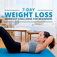 Lose weight with our 7-day challenge