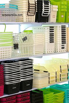 """'A Casarella: A visit to Daiso (The """"Japanese Dollar Store"""") Japanese Dollar Store, Japanese Store, Electronics Projects, Electronics Storage, Daiso Japan Products, Daiso Store, Kitchenware Shop, Beautiful Landscape Wallpaper, Showroom Design"""