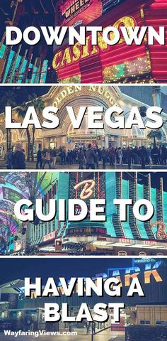 Have a blast with this epic guide for things to do in Downtown Las Vegas. Downtown is retro, affordable and fun. Find things to do in Las Vegas Nevada like fun attractions, locally run restaurants and affordable hotels. Las Vegas Tips, Las Vegas Vacation, Vegas Fun, Las Vegas Nevada, Vacation Ideas, Las Vegas Quotes, Vacation Places, Downtown Las Vegas Restaurants, Paris Hotel Las Vegas