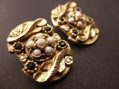 vintage earringsHattie Carnegie1950sclip on by TrunkGypsies, $37.50