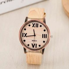 Wood watch!