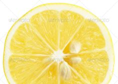 Single cross section of lemon. Isolated on white background. Clo (citrus, close-up, closeup, cross, cut, eating, food, fruit, healthy, isolated, lemon, limon, macro, nature, object, one, only, photo, photography, portion, refreshment, ripe, section, sinensis, single, slices, studio, succulent, sweet, vitality, white, yellow)