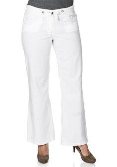 Typ , Leinen-Baumwollhose, |Materialzusammensetzung , 55 % Leinen, 45 % Baumwolle, |Länge , Längen ca.: N-Gr. 80 cm, L-Gr. 89 cm, K-Gr. 77 cm, |Bund , Bund mit Bindeband zum Regulieren der Weite, |Vordertaschen , 2, |Taschenanzahl , 4, |Gesäßtaschen , 2, | ...