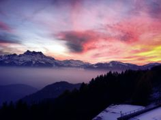 #beautiful #switzerland #swiss #alps #love #mountains #sunset #magical #nature #amazing #boardingschool #leysin #leysinamericanschool #incredible #pretty #nature #sunrise #landscape #europe