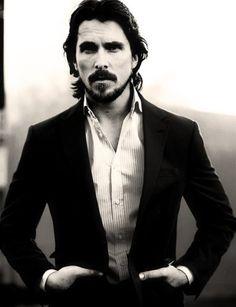 Smokin' hot Christian Bale