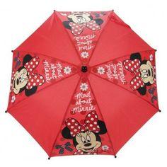 Minniei Mouse umbrellas are fun and bright