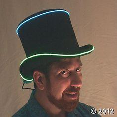 Cool Green Neon Strobe Wire (Tron costumes?)