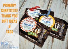 Little LDS Ideas - substitute ideas, teacher birthdays, sharing times, etc.