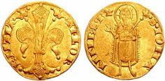 Italian Gold Fiorino Coin