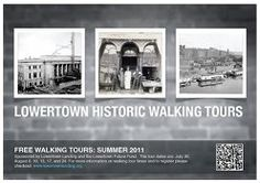 FREE Lowertown Historic Walking Tours are back for Summer 2012!! The remaining dates this year are: August, 22, and the 23rd. Last summer we were totally booked out so SIGN UP NOW!!!http://tinyurl.com/LowertownTour