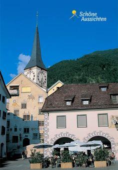 Chur - die Hauptstadt des Kanton Graubünden  http://www.schoene-aussichten.travel/region/chur/  ©swiss-image.ch / Stephan Engler