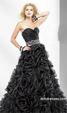 2015 Collection Sweetheart A Line Ruffles Floor Length Organza Prom Dresses