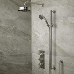 Empire Dual Control Shower Chrome - 2 valves