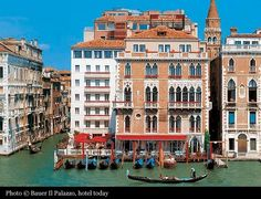 Bauer Grunwald Hotel, now Bauer Il Palazzo, Venice (May 1998, Room 510 - top right, with terrace side-on the the Grand Canal!) (170)