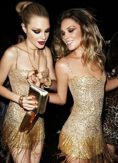 Jessica Stam & Erin Wasson by Terry Richardson for Roberto Cavalli for H&M, 2007