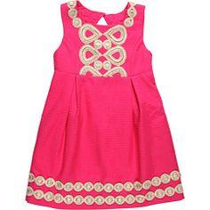 Lilly Pulitzer Kids - Mini Adelson Jacquard Dress (Little Kids/Big Kids)