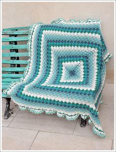 Crochet blanket for Salvador