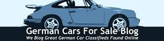 German Cars For Sale Blog | The finest modern classic and vintage German cars for sale in North America like the BMW e30 M3, Mercedes 2.3-16, Porsche R Gruppe, Alpina, Hartge, AMG, Carlson, Audi S4