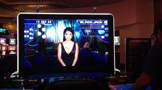 Virtual Black Jack Dealer at the Hard Rock Hotel + Casino in Tampa, Fl.