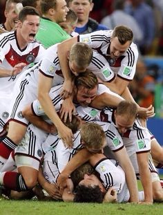 WE DID IT!!!! 2014 WORLD CUP CHAMPIONS!!