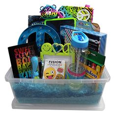 Unique easter basket for your 9 12 year old girls tween girls gift basket perfect for easter basket christmas birthdays negle Choice Image