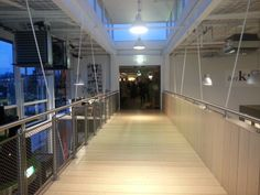 loopbrug, woonwinkel het Kabinet, Bunnik met Henk van Hooff Architect