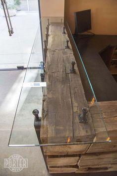 Incredible diy reception desk ideas 32