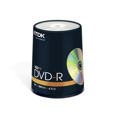 TDK DVD-R 16x 100pc Spindle | Drives IT Distribution