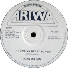 John McLean / Mad Professor - If I Give My Heart To You / Doppler Effect