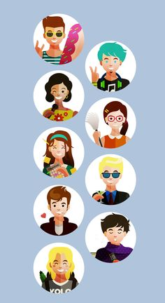 10 Types of People You Should Reconnect With. on Behance