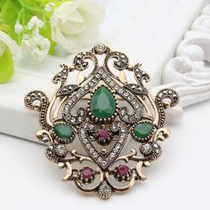Turkish Brooch Gold Plating Flower Design //Price: $19.95 & FREE Shipping //     #Engagement Rings   Turkish Brooch Gold Plating Flower Design              26.99,   19.95  https://mymonsterdeal.com/classic-quality-turkish-broach-brooch-royal-jewelry-retro-gold-plating-flower-design-hijab-scarf-lapel-pins-woman-festival-gift/    My Monster Deal