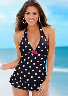 Navy one piece swimsuite