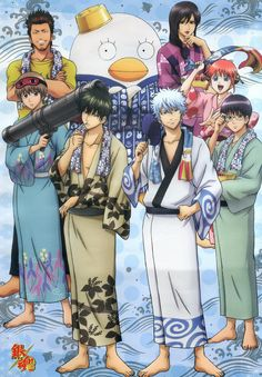 Gintama. Possibly the strangest, most random show that isn't a slice-of-life. So many wtf moments.