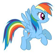 I got: Rainbow Dash! Find Your Inner My Little Pony