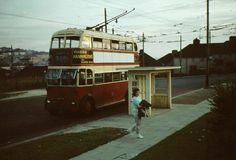 Hollingbury [Carden Avenue] Terminus - 1961 Brighton Sussex, Brighton And Hove, Routemaster, Bus Coach, England Uk, Coaches, Buses, Vintage Photos, Past