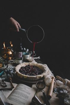 Blackberry, Blueberry, & Honey Lattice Pie + a Blackberry Honey Basil Julep | TermiNatetor Kitchen
