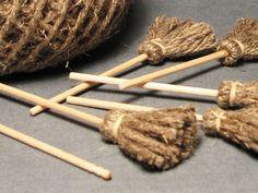 Мастерим метёлку для куклы   Ярмарка Мастеров - ручная работа, handmade