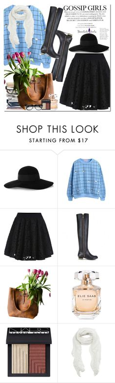 """Beautiful Halo"" by oshint ❤ liked on Polyvore featuring Eugenia Kim, Elie Saab, NARS Cosmetics, Subtle Luxury and bhalo"